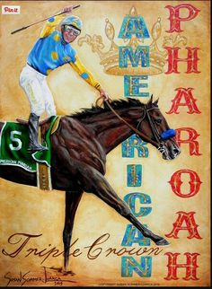 American Pharaoh     A Great Horse in his own right for his Triple Crown Wins, Now has joined the Greatest Horses!!!