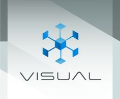 This logo makes you do what it says. It makes you visualize because the image can be seen as both two dimensional and three dimensional. I also really like the typography, It fits in with the symbol; it is super slim and modern.