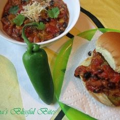 Jalapeno Crock Pot Chili - Warming up for the football season this chili is perfect for tailgating!