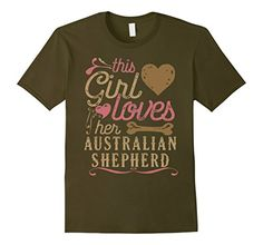 Australian Shepherd Shirt: This Girl Loves Her Australian Shepherd. Agreed? Dogs breeds, dogs funny, dogs training, dogs sweater, cutest dogs, dogs stuff, dogs ideas, dogs and puppies, dogs kennel, dogs quotes, dog shirt, dog tshirt, dog clothes, dog mug, dogs shirt, dogs tshirt, dogs clothes, dogs mug, dog funny, cute puppies, australian shepherd shirt, australian shepherd tshirt, australian shepherd clothes, australian shepherd mug, #roninshirts