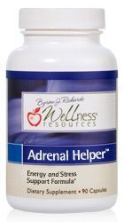 NEW! Adrenal Helper is a hormone-free blend of adaptogenic herbs that supports healthy adrenal gland function, helps your body adapt to the demands of stress, and boosts energy and vitality.