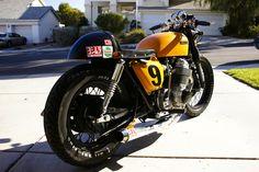 Cafe Racer Special: Honda CB 750 Cafè Racer