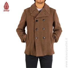 #Dondup  wool #coat 60% off on #eluxuryoutlet >> http://www.eluxuryoutlet.it/it/uomo/capispalla/cappotto-lana.html