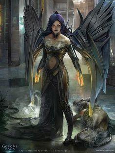 Image result for fallen angel fantasy art