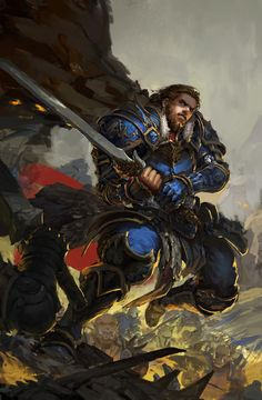 Anduin Lothar by Peng Yue
