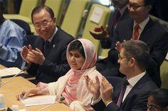 Malala Yousafzai Speech at The UN Assembly 12th July, 2013 ~ Malala Yousafzai