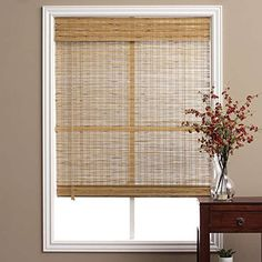 Single Piece Brown Tuscan Bamboo 28 Inch x 74 Inch Long Roman Shade Curtain Energy Efficient Bamboo And Other EcoFriendly Material Features Easy To Clean Taupe Beige Coffee Mocha Walnut ** To view further for this item, visit the image link. (This is an affiliate link and I receive a commission for the sales)