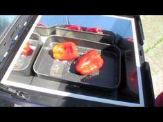 Pimientos aliñados reto horno solar