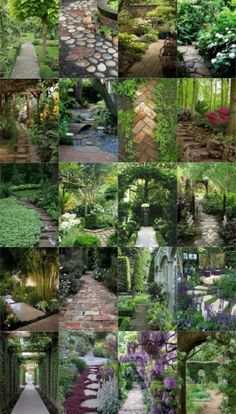 56 Enchanting Garden Paths