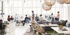 5 Easy Office Design Tips that Will Boost Employee Happiness ., design modern boss 5 Easy Office Design Tips that Will Boost Employee Happiness . Good Boss, Office Lobby, Modern Office Design, Great Leaders, Furniture, Home Decor, Work Harder, Technology Articles, Latest Technology