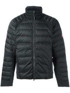 CANADA GOOSE Logo Patch Padded Jacket. #canadagoose #cloth #jacket