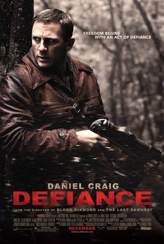 Defiance. an amazing movie set during the Holocaust.Liev Schreiber in Defiance. about the Bielski Brothers that saves over 1200 jews.