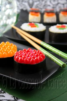Sushi in April Fools. This is in French so you may want to use Google translate
