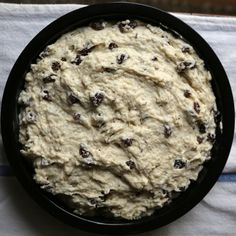 Many St. Patrick's Days ago when I first started working for POPSUGAR, my colleagues Maggie and Lizzy Eisenberg brought in this Irish soda bread, courtesy of Irish Bread, Irish Soda Bread Recipe, Gluten Protein, Popsugar Food, Caraway Seeds, Sifted Flour, Cake Pans, Good Food, Yummy Food
