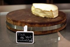 Pied de Vent, a washed-rind cheese from the Magdalene Islands