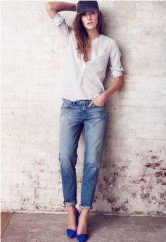 Madewell || Boyjean as simple as u can