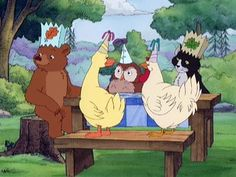 Little Bear!!!!! I loved this show!!!!!!! Still do actually! ;)