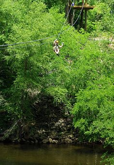 Canopy Zip Line Tours, North Carolina Mountains near Asheville