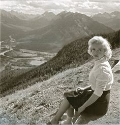 Marilyn Monroe, Banff Alberta, Canada, 1953