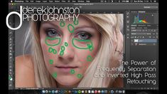 The Power of Frequency Separation and Inverted High Pass Retouching