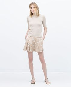 Image 1 of SHORT SLEEVE KNIT SWEATER from Zara