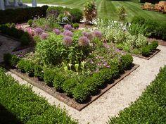 Planting Beds - traditional - landscape - boston - NatureWorks Landscape Services, Inc.