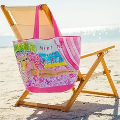 Meet me at the beach... Lilly Pulitzer Bag.