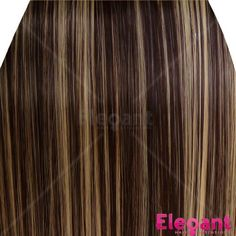 Elegant Hair  22 Clip in Hair Extensions STRAIGHT Dark BrownBlonde Mix 4613 FULL HEAD 8pc 140g >>> Check out the image by visiting the link.Note:It is affiliate link to Amazon.