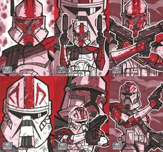 Topps Star Wars G7 - 04 FORDO by JoeHoganArt.deviantart.com on @deviantART