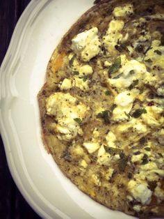 LouLouGourmet - L'Omelette Corse de Lucie
