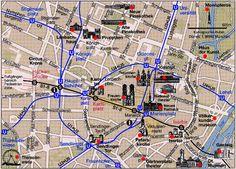 cool Munich Map Tourist Attractions