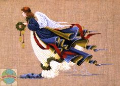 Lavender and Lace - Christmas Angel of Freedom - Cross Stitch World