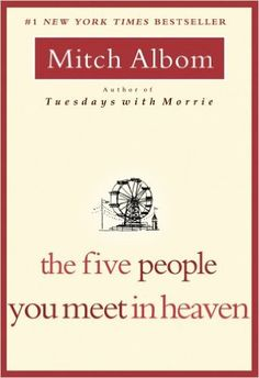 The concept alone is enough to make you tear up: A man dies and meets five people from his past who try to explain the meaning of his life to him. The Five People You Meet in Heaven by Mitch Albom flooded tear ducts throughout 2004.