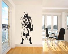 Assassins Creed Brotherhood Vinyl Wall Art Decal  WD-0347. $32.99, via Etsy.