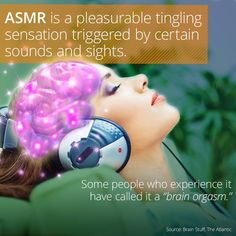 What Is ASMR, And Why Does It Make You Tingle?