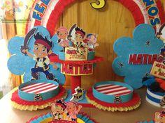 DECORACIONES INFANTILES  JAKE Y LOS PIRATAS DE NUNCA JAMAS  42c25ab6c64ca
