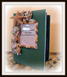 Seashells Galore Photo Album by SuziesSeashellWorld on Etsy, $35.00