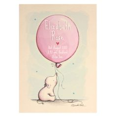 personalised baby name art nursery art by illustrationgarden, £15.00