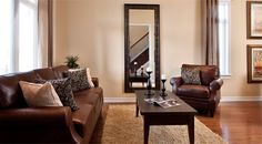 The Glen Abbey at eQuinelle by eQ Homes Living Room Inspiration, Model Homes, Condo, New Homes, New Home Essentials