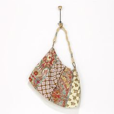 One of my favorite discoveries at WorldMarket.com: Indian Printed Patchwork Bag with Twist Handle