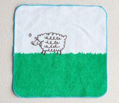 Sheep Small Towel - Shinzi Katoh | Towels | Maigo