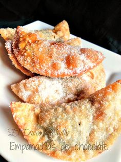 El dulce paladar: Empanadillas de chocolate
