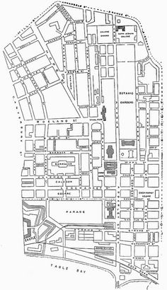 Plan of Cape Town, Centre of the City Its A Wonderful Life, African History, Cape Town, South Africa, How To Plan, City, Maps, Centre, Beautiful Places