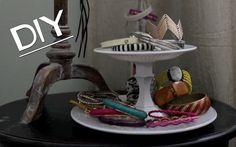 Dollar Tree DIY! Jewelry/Dessert 2-Tier Display Stand