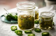 Spice things up with jalapeño pickles.