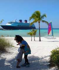 The Happiest Place on Earth Meets Bahamian Paradise