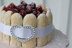 Raspberries and Cream Charlotte
