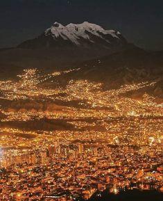 Bolivia Travel, Bolivia City, Chile, City Sky, Sky View, World Cities, South America Travel, Travel Design, City Photography