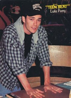 Luke Perry hands down pinup Watch Riverdale, Mark Paul Gosselaar, Jonathan Taylor Thomas, Joey Lawrence, Luke Perry, Beverly Hills 90210, Together Forever, New Kids, Pinup