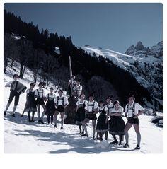 Oberstdorfer im Winter